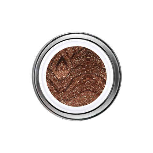 Glitter Gel - 6ml - Brown -
