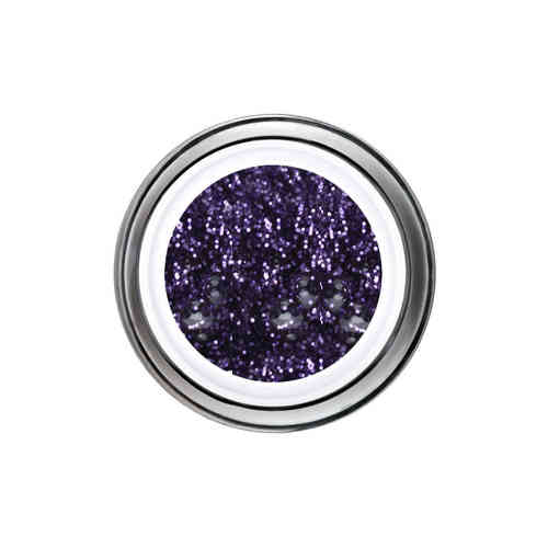 Glitter Gel - 6ml - Lila -
