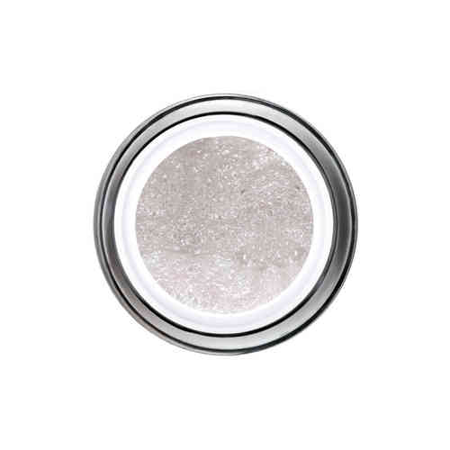 Glitter Gel - 6ml - White-Silver -