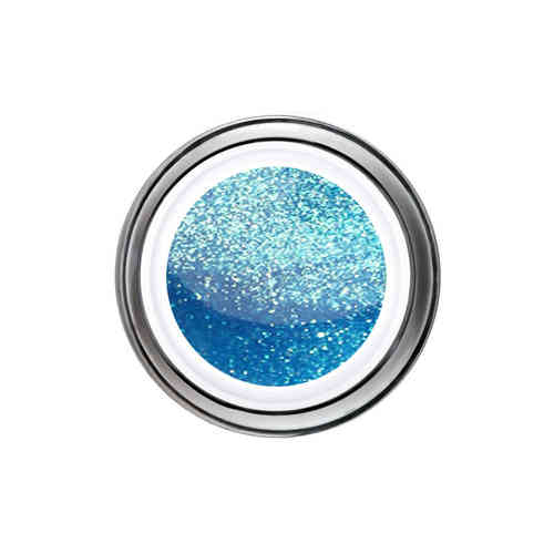 Glitter Gel - 6ml - Blue-Capri -
